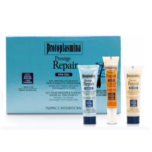 KIT DE RÉPARATION DE LA VIE DE PRESTIGE DE PROTOPLASMINA - FARMACA INTERNATIONAL