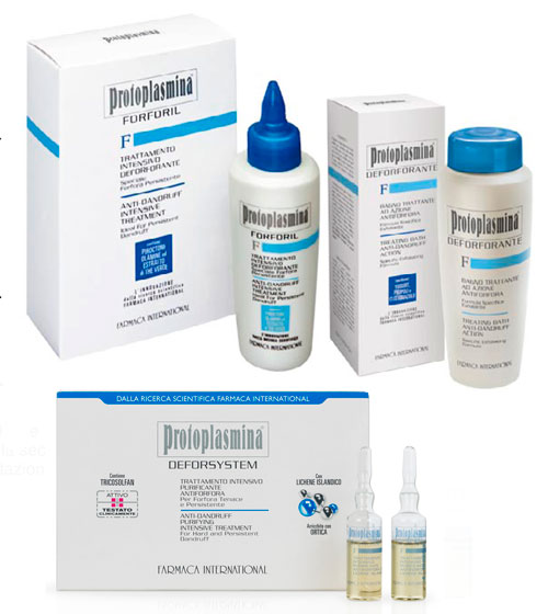 PROTOPLASMINA « F »-DUNDRUFF LIGNE - FARMACA INTERNATIONAL