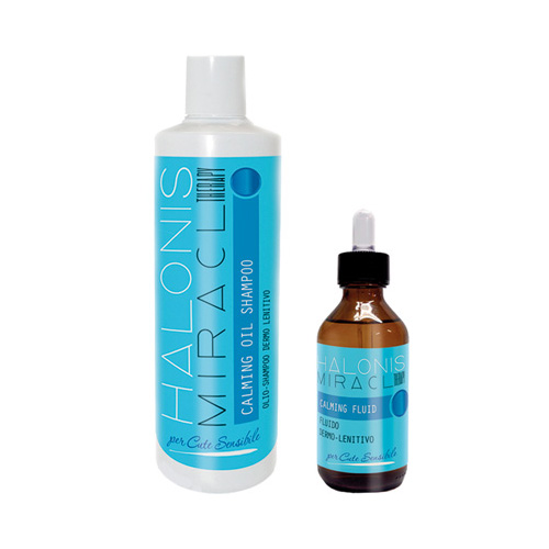MIRACL THERAPY - CALMING OIL SHAMPOO - HALONIS