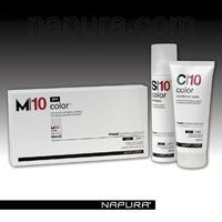 FARBA : ošetrené vlasy - NAPURA