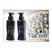 NACRÈO MAN - Black Pearl ja hopea GEL - PRECIOUS HAIR