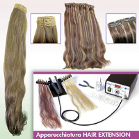 100% naturlige menneskehår extensions - HAIR TRADE