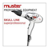Linia do włosów SKULL - MUSTER