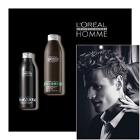 L'Oréal Professionnel HOMME - TONIQUE and COOL CLEAR - L OREAL PROFESSIONNEL - LOREAL