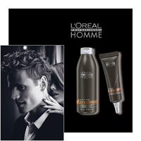 L' OREAL PROFESSIONNEL HOMME - FIBERBOOST и Soin FIBERFUEL - L OREAL PROFESSIONNEL - LOREAL