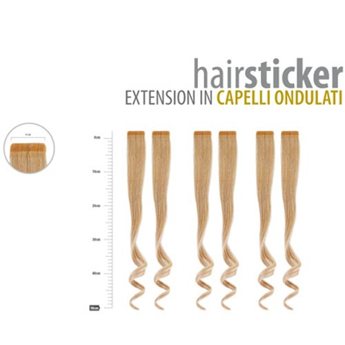 HAIRSTICKER: EXTENSION IN CAPELLI ONDULATI - DIBIASE HAIR