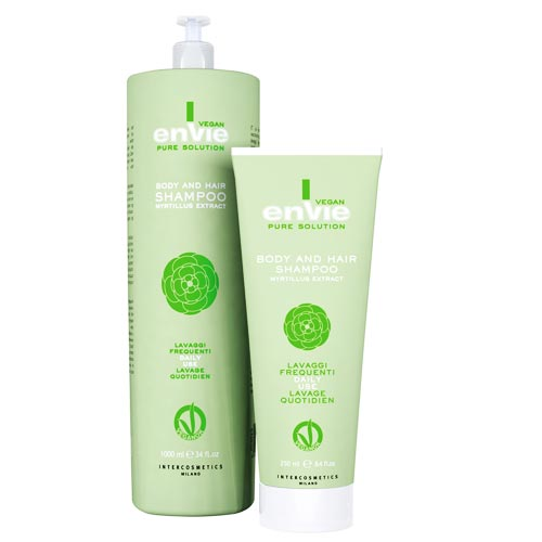 ENVIE VEGAN BODY AND HAIR SHAMPOO: MYRTILLUS EXTRACT  - ENVIE