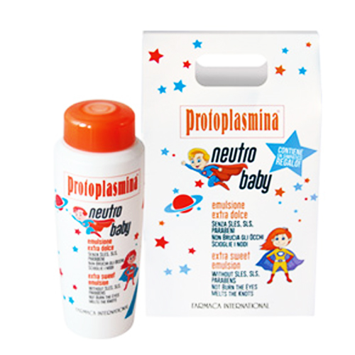 PROTOPLASMINA מיוחד: שמפו NEUTROBABY - FARMACA INTERNATIONAL