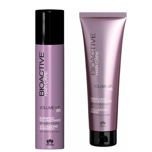 BIOACTIVE HAIRCARE VOLUME-UP SHAMPOO & MASK - FARMAGAN