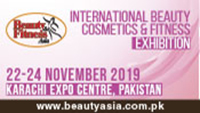 International Beauty Cosmetics & Fitness Exibition - Karachi 22-24 Novembre 2019
