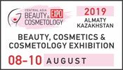 Central Asia Beauty Expo - Almaty, Kazakhstan 8-10 Agosto 2019