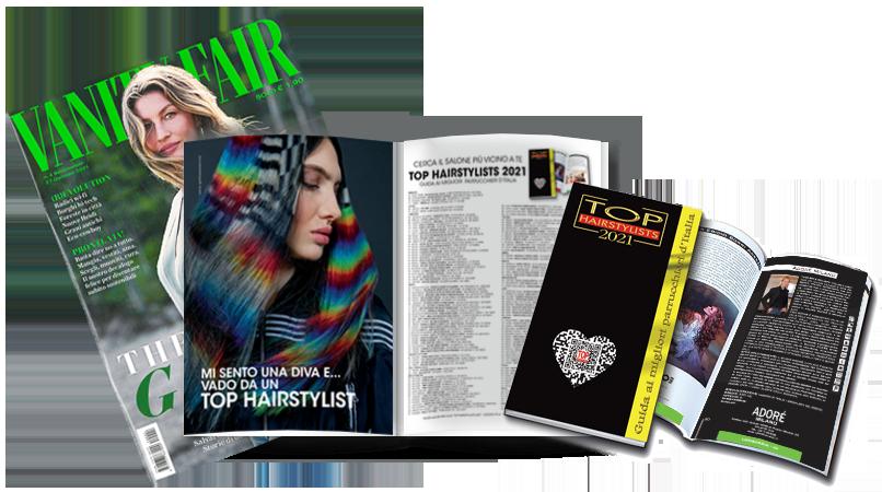 ADORE MILANO è stato pubblicato sulla TOP HAIRSTYLISTS 2021 !