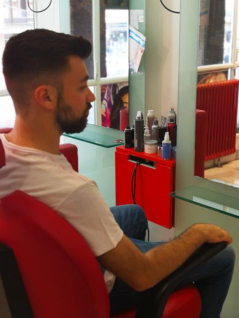 Barber Corner Albert Equipe