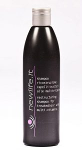 Novità per parrucchieri: ALDO FORTE presenta NEWLIFE.IT Shampoo Ricostruzione per capelli trattati