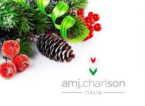 AMJ CHARLSON augura a tutti Buon Natale !