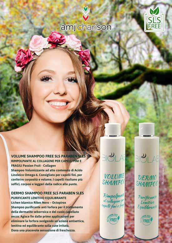 Volume shampoo Dermo Shampoo AMJ Charlson
