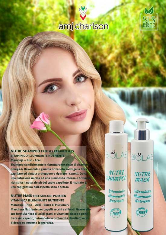 NUTRE Shampoo FREE SLS  NUTRE MASK  FREE SILICONI PARABEN amjcharlsonPARABEN SLES