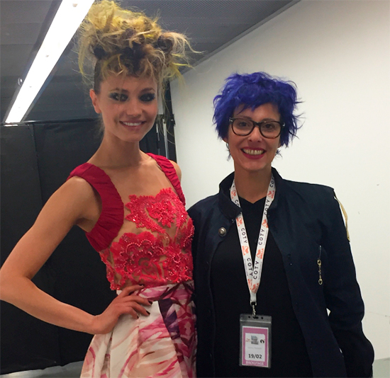 Roberta Gallina Wcs18 Wella collection show