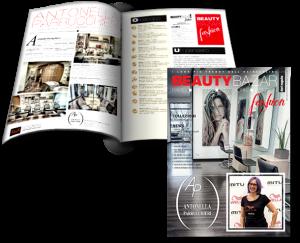 ANTONELLA PARRUCCHIERI è sulla copertina di BEAUTY BAZAR FASHION. Sfoglia online la rivista !