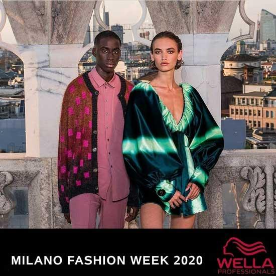 ROBERTA GALLINA e il team ANTONELLA PARRUCCHIERI ❤️ anche quest'anno, alla Milano FASHION WEEK!