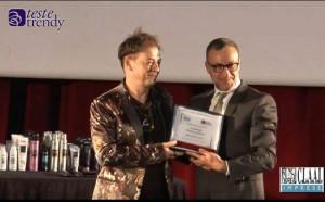 """Evento per parrucchieri: ANTONIO IENGO premiato durante l'evento """"Teste Trendy"""" per le sue innovazioni coloristiche"""