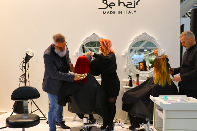 Cosmoprof Bologna 2018 Stand Be Hair