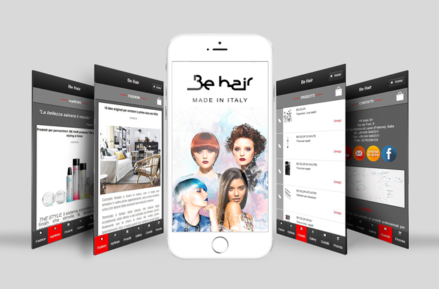 Nuova App Be Hair