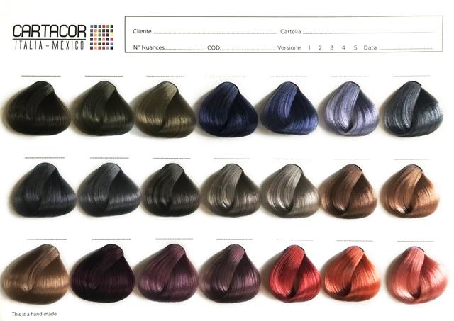 Cartacor Cartelle Colori Per Parrucchieri Cartacor