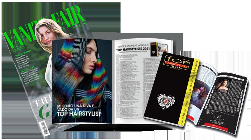 CINZIA PARRUCCHIERI è stato pubblicato sulla TOP HAIRSTYLISTS 2021 !