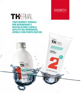 NOVITÀ prodotto: EMSIBETH presenta THERMAL haircare