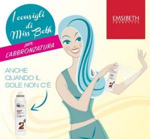 NOVITÀ prodotto per parrucchieri: EMSIBETH presenta Bronzer Spray della linea THERMAL SUNCARE