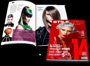 EQUIPE VINS è stato pubblicato su STILE CAPELLI 14 come uno dei migliori parrucchieri di Italia