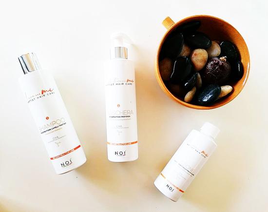 VINCENZO PETRUCCI ❤️  consiglia la linea nutriente per capelli, firmata NOI ITALIAN FASHION STYLE