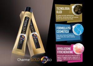 Novità per Parrucchieri: FARMACA INTERNATIONAL presenta CHARME GOLD OLED