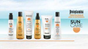 Noi di FARMACA ❤️ ti consigliamo la linea Protoplasmina Sun Care, per un'estate di sole e relax!