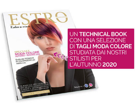 FARMACA INTERNATIONAL ❤️ in edicola con la rivista moda capelli ESTRO!