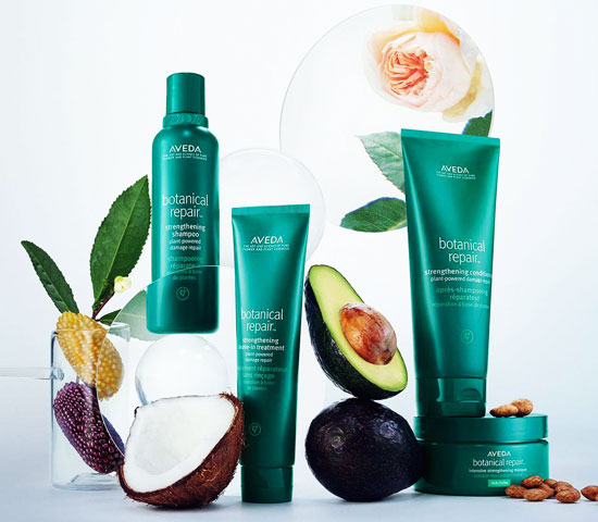 Francesco Stile hairstylist Nuova Linea AVEDA  Botanical Repair