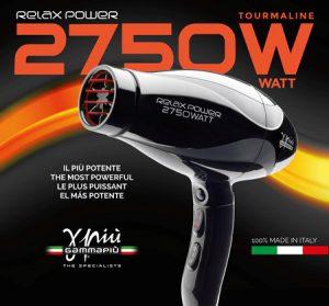 Novità per parrucchieri: GAMMA PIÙ presenta RELAX POWER 2750W
