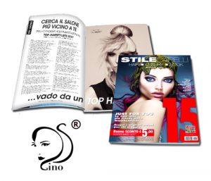 GINO DE STEFANO è stato candidato alla pubblicazione nella TOP HAIRSTYLIST 2019 !