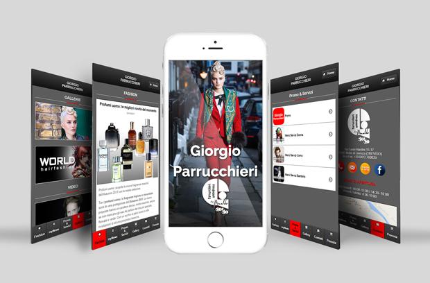 Nuova App Giorgio Parrucchieri
