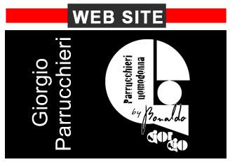 Giorgio parrucchieri website