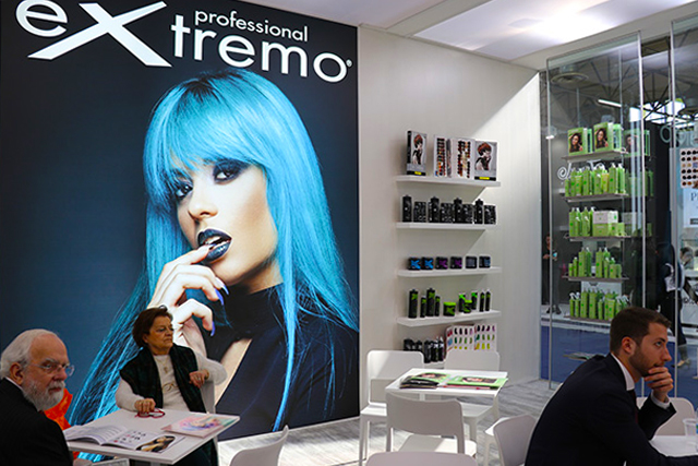 Stand Extremo Cosmoprof Bologna 2018