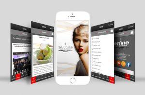 ENVIE – linea di prodotti cosmetici professionali per parrucchieri di Settimo Milanese (Milano) –  ti invita a SCARICARE la sua App
