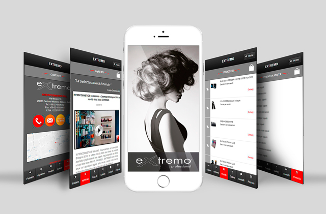 Nuova APP Extremo Intercosmetics