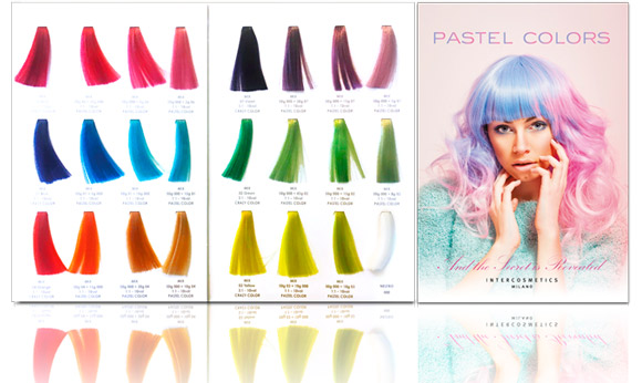 Intercosmetics Pastel Colors