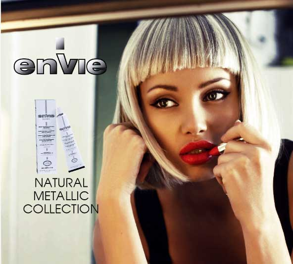 NEW colori NATURAL METALLIC envie