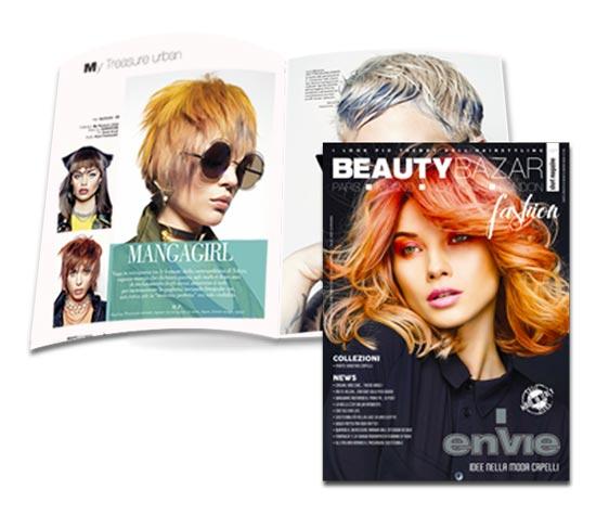 ENVIE ❤️ è sulla copertina di BEAUTY BAZAR fashion !