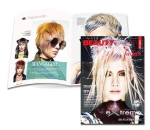 EXTREMO ❤️ è sulla copertina di BEAUTY BAZAR fashion !