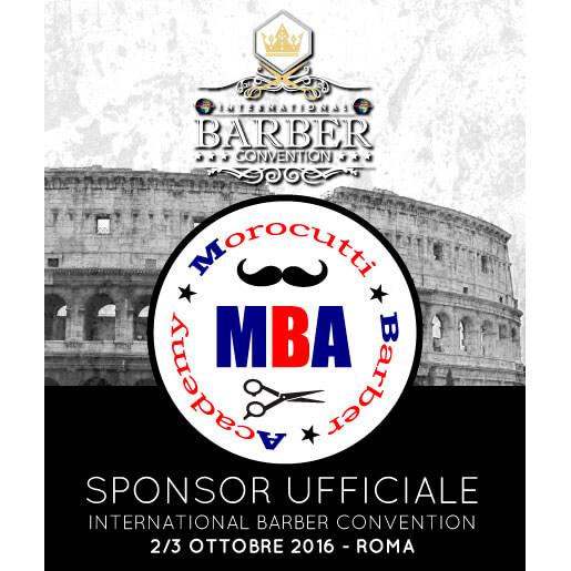 Morocutti sponsor ufficiale di international barber for Sen martin arredo per barber shop