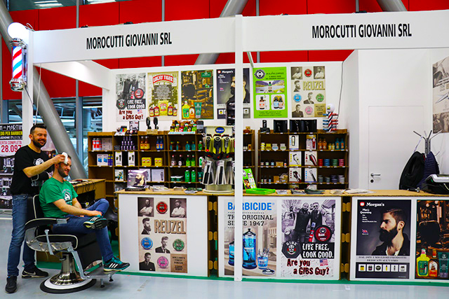 Cosmoprof Bologna 2018 Stand Morocutti